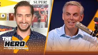 MJ lied about Isiah Thomas, talks 16 team NBA playoffs, Baker & Russ Wilson — Nick Wright | THE HERD