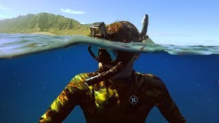 Freediving Power Plant in Hawaii! (Almost Died)