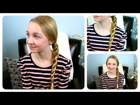 Hair-Wrapped Rope Braid {Plait} | Cute Girls Hairstyles