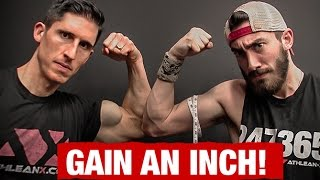 Add an Inch to Your Arms (ONE SINGLE PUMP!!)