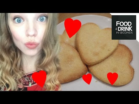 Heart Shaped Shortbread with OfficialEShaw