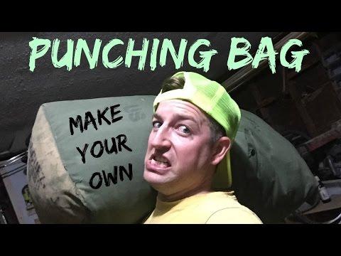JWF-DIY Punching Bag