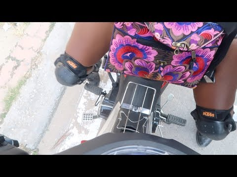DRIVING A MANUAL MOTORBIKE FOR THE FIRST TIME!   Life in Vietnam   charlycheer