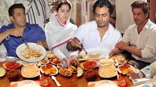 Salman, Nawazuddin, Katrina and Shahrukh Enjoying Iftar in Ramadan Kareem | Shahi Foods and Items