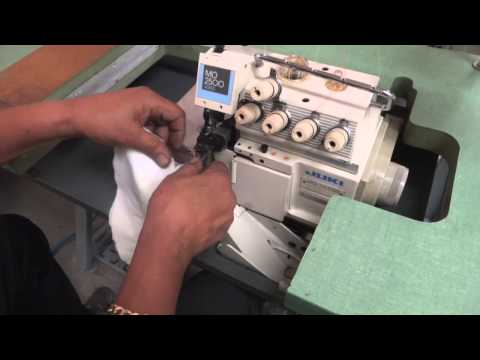 Juki Overlock Sewing Machine 6,5,4,3 Thread and merrow Mol  Mo 2543N Tag # 4034
