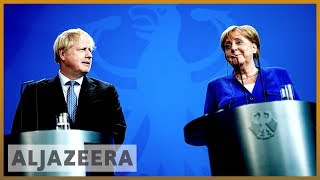 Brexit: UK's Boris Johnson in Europe to lobby leaders
