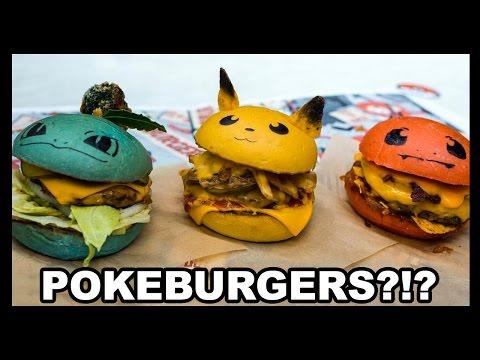 Pokémon Go Burgers?! That's BANANAS. - Food Feeder