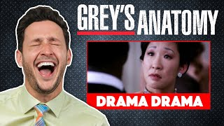 Real Doctor Reacts to GREY'S ANATOMY #4 | Medical Drama Review