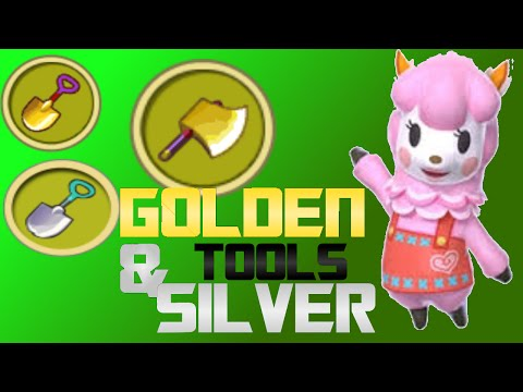 Animal Crossing New Leaf: Ep. 17 Golden & Silver Tools