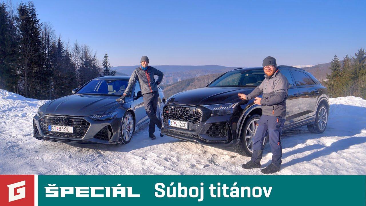 AUDI RS6 vs. RS Q8 4.0 TFSI QUATTRO TT8 - ENG SUB - ŠPECIÁL - GARÁŽ.TV