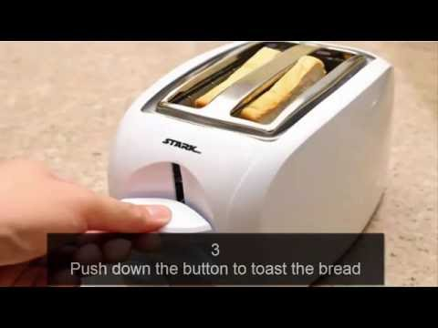 How to Make Toast  in a Toaster-Youtube