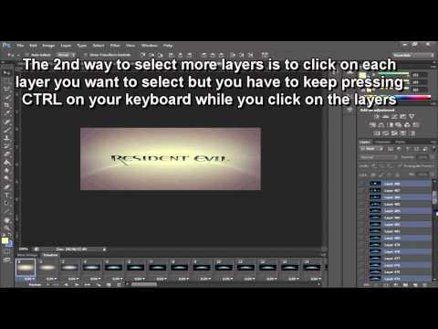 Photoshop || How to make a gif (