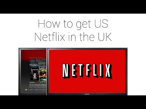 How to get US Netflix on a UK games console