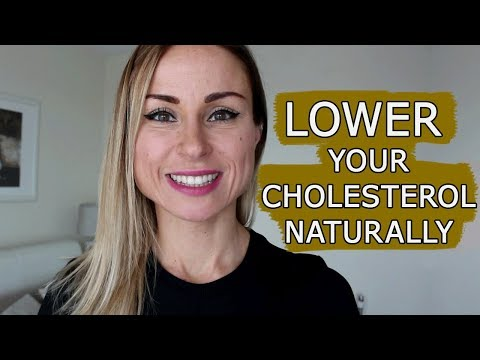 How to lower your CHOLESTEROL naturally?