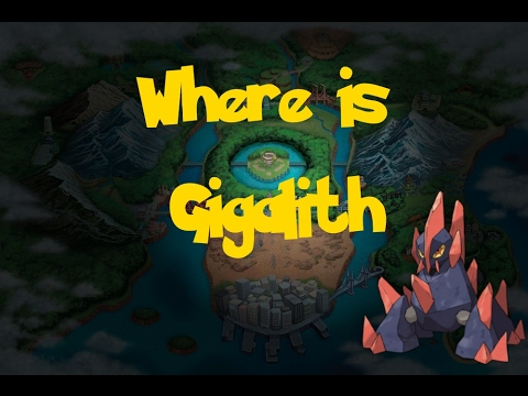 Where Is: Gigalith (Trade Pokemon) (Pokemon Black 2/White 2)