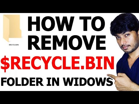 How To Remove $RECYCLE.BIN (Virus or Folder) Windows 10 👍