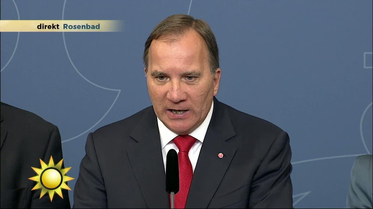 Här lackar statsministern på TV-reportern - Nyhetsmorgon (TV4)