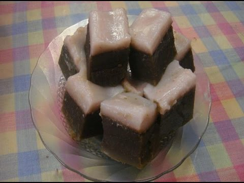 Cara Membuat dan Resep Kue Talam Gula Merah