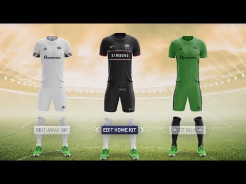 FIFA 18: HOW TO MAKE THE SIDEMEN FC KITS! | CUSTOMIZE YOUR OWN CLUB AND KITS TO USE IN FIFA 18