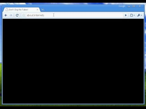 Google Chrome Easter Egg in Windows XP