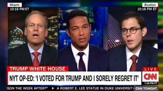 I Voted For Trump And I Sorely Regret It - CNN Interview With Now FORMER Trump Supporter