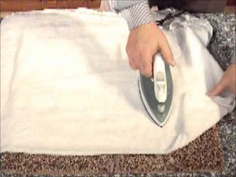 How to get furniture marks out of carpet