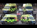 NEW West Midlands Ambulances responding with siren and lights