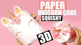 Download 3D PAPER SQUISHY | How to make a squishy without foam #18 Video
