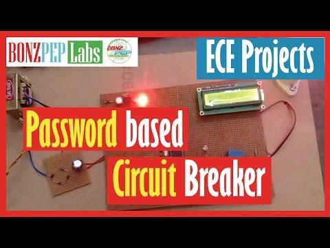 Password Based Circuit Breaker System
