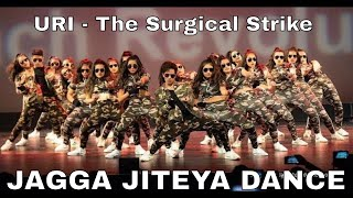 Uri - The Surgical Strike Jagga Jiteya Military Themed Dance by Arya Dance Academy Senior Troupe
