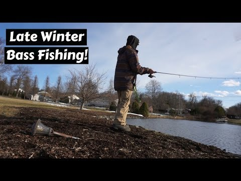 Late Winter Bass Fishing 2018 ~ Using Finesse Techniques