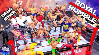 Download WWE ROYAL RUMBLE ACTION FIGURE MATCH! Video