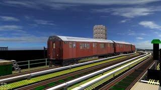 OpenBVE][AJRT][Trainspotting] Triple Trains Car Haul on City Express
