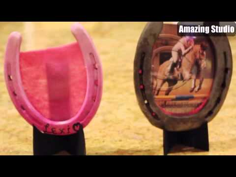 DIY Horse Shoe Picture Frame