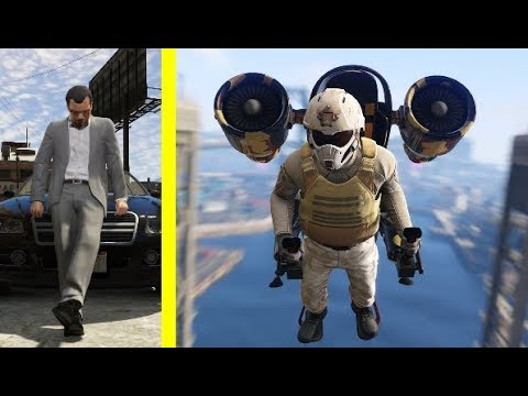 Ned Luke Revealed the GTA 5 Jetpack FROM THE START!