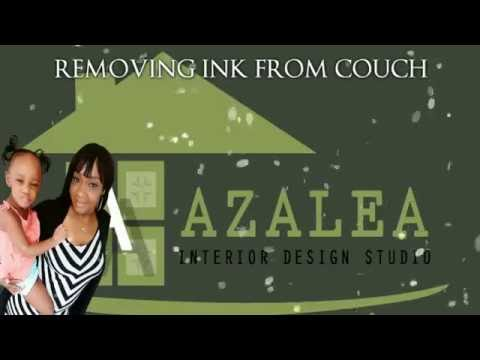 REMOVING INK FROM COUCH