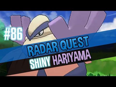 Radar Quest Shiny 86/120 - Hariyama (PokeRadar)