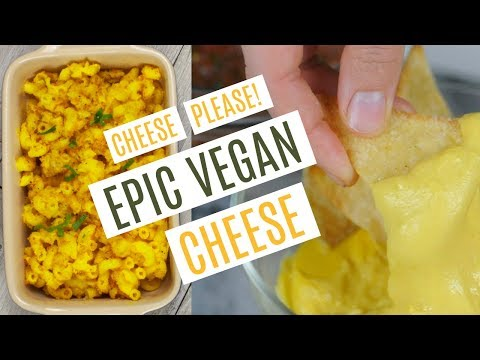 How To Make The Best Easy Vegan Oil Free Cheese Sauce | Nachos | Macaroni & Cheese
