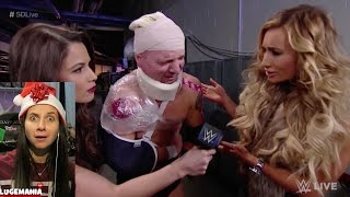 WWE Smackdown 12/20/16 Carmella and JAMES ELLSWORTH??