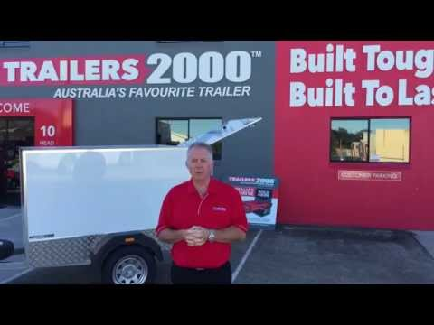6 x 4 Luggage Trailers by Trailers 2000