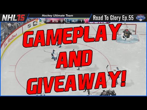 NHL 15 HUT   GAMEPLAY and 27k GIVEAWAY! (Road To Glory 55)   TacTixHD