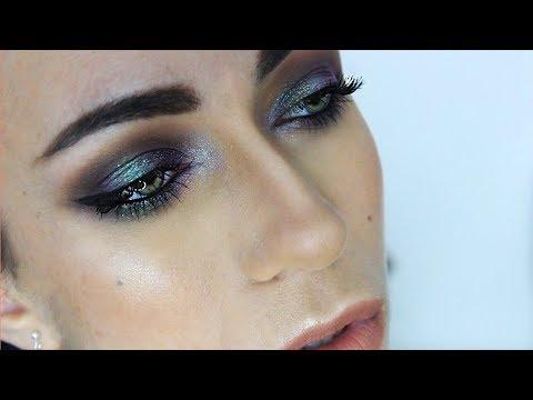 Duo Chrome Mermaid Eyes Makeup Tutorial | MakeupAndArtFreak