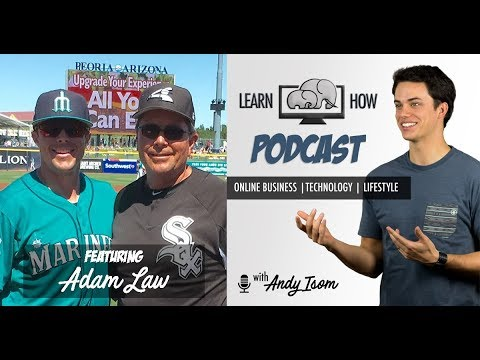 #010 - How to handle pressure and deal with high expectations with baseball player Adam Law