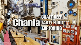 Download 🇬🇷 CHANIA, GREECE 🇬🇷 Finding Craft Beer, Delicious Food & The Best Shops Video