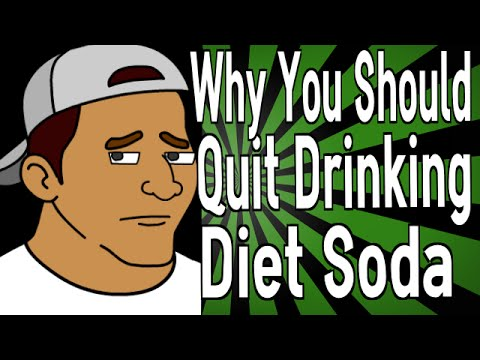 Why You Should Quit Drinking Diet Soda