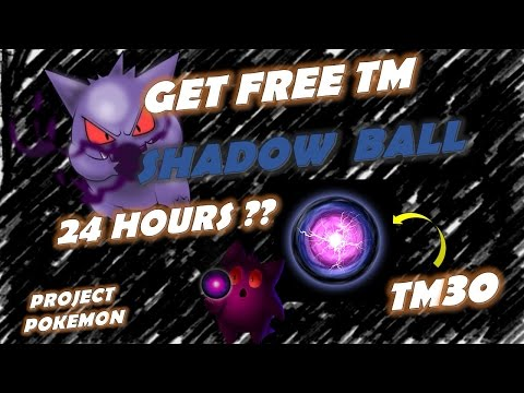 [FREE] TM-30 SHADOW BALL PROJECT: POKEMON