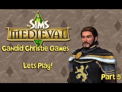 Let's Play the Sims Medieval   Part 5 - Ominous Tides & Royal Review!