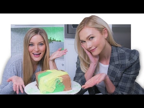Making a Camo Cake with Karlie Kloss! 💚