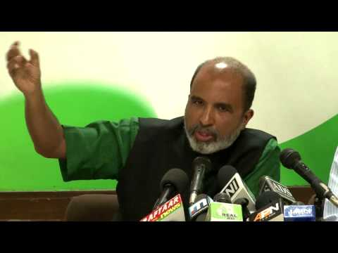 Press Conference Addressed by Mr. Sanjay Jha on March 27, 2014