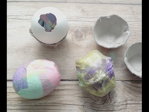 Easter Eggshells filled with Confetti & Glitter (Cascarones)